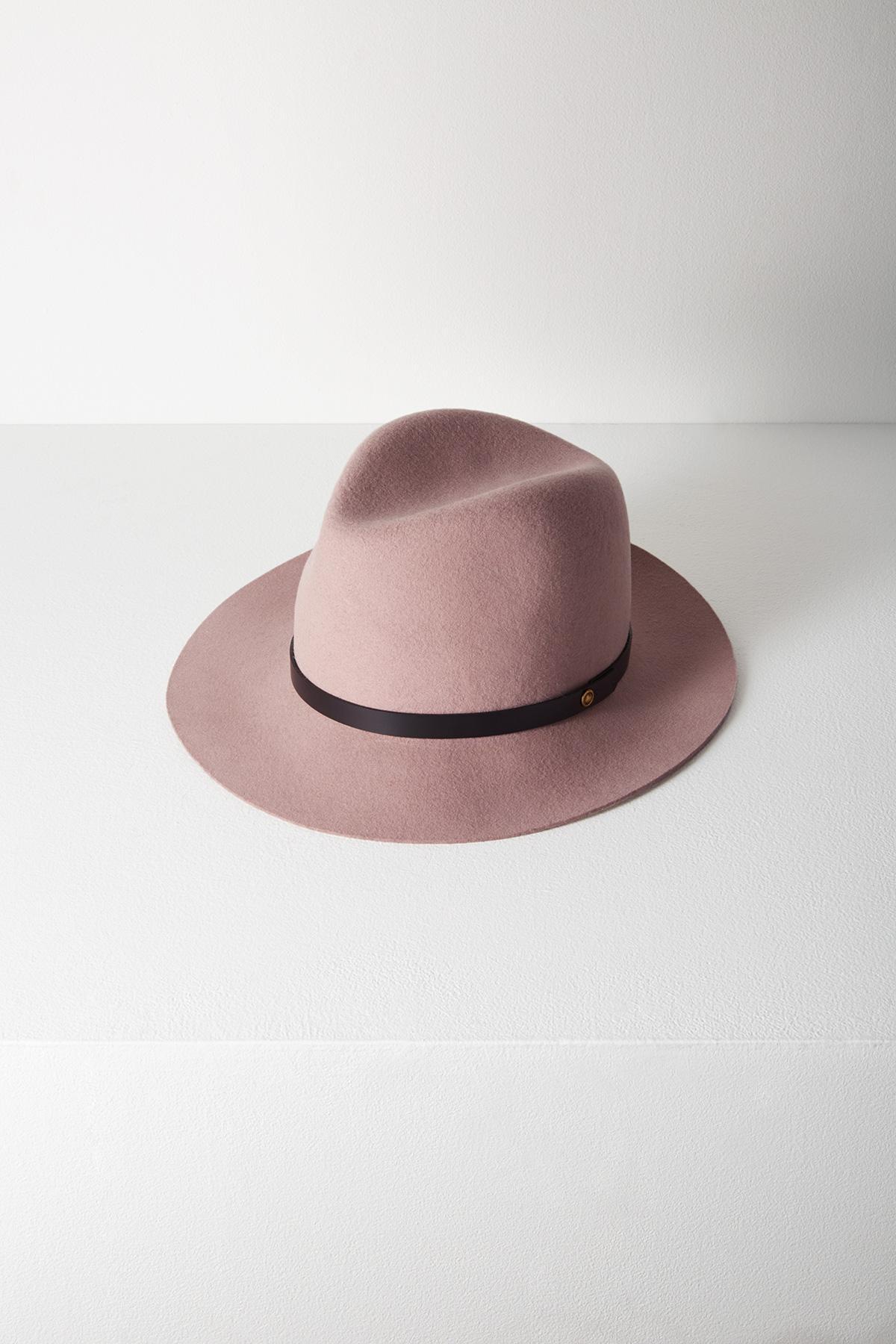 2f0007d8d033f Rag   Bone Floppy Brim Fedora in Pink - Lyst