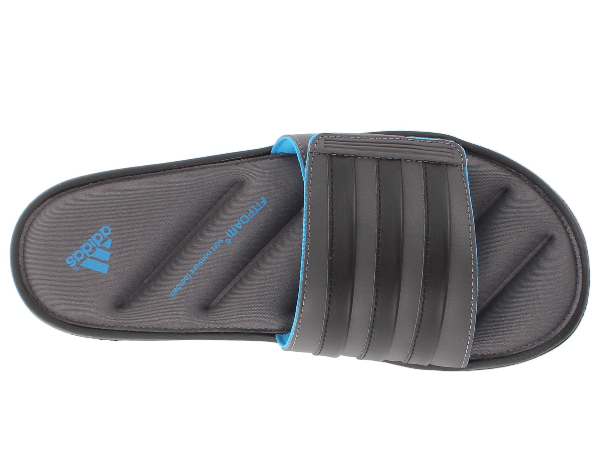 d7b27b6ffc7b91 Lyst adidas originals zeitfrei fitfoam slide in gray for men memory foam  adidas flip jpg 1920x1440