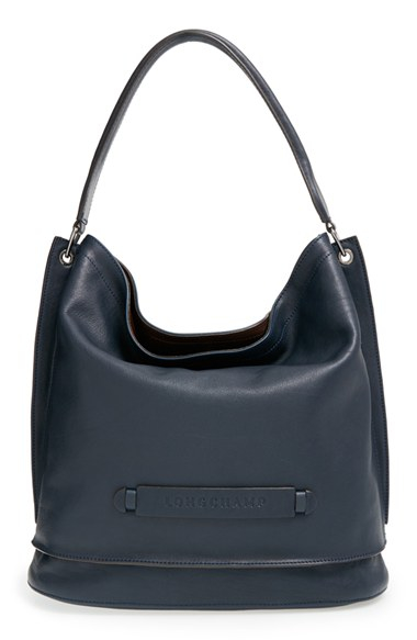 Longchamp Hobo Laukku : Longchamp le foulonne leather hobo bag lyst car interior