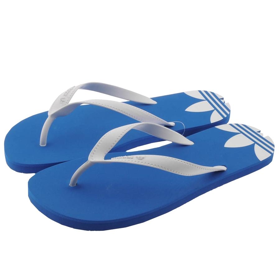 adidas originals adi sun flip flops bird in blue for men. Black Bedroom Furniture Sets. Home Design Ideas