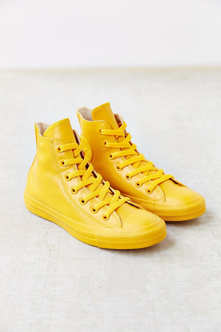 Converse Yellow High Tops Filmuthyrning Nu