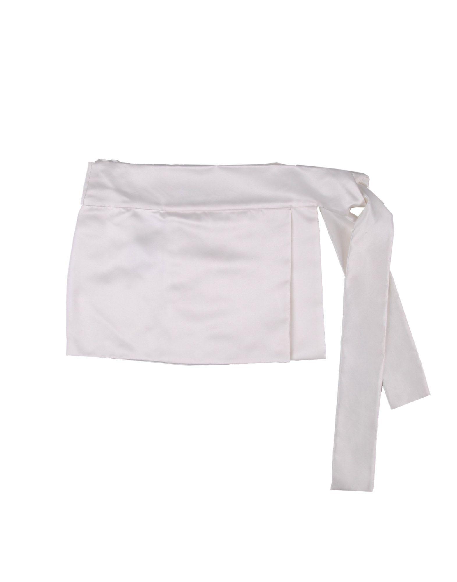 Prada Belt in White | Lyst