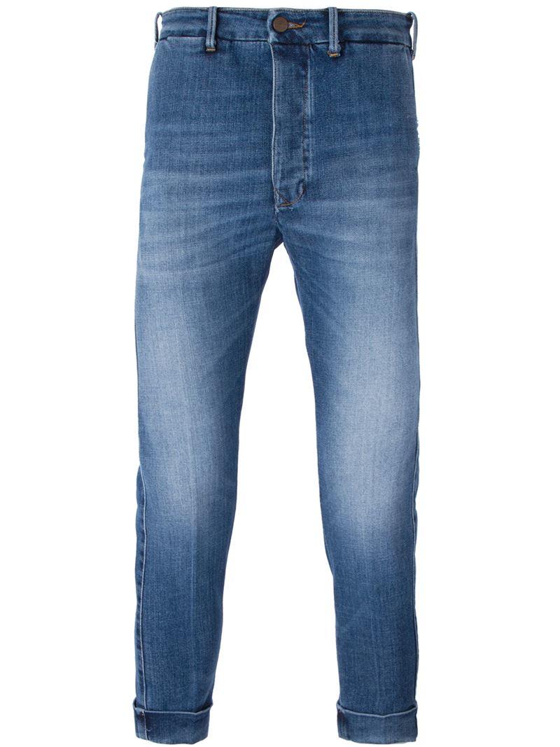 people slim fit jeans in blue for men lyst. Black Bedroom Furniture Sets. Home Design Ideas