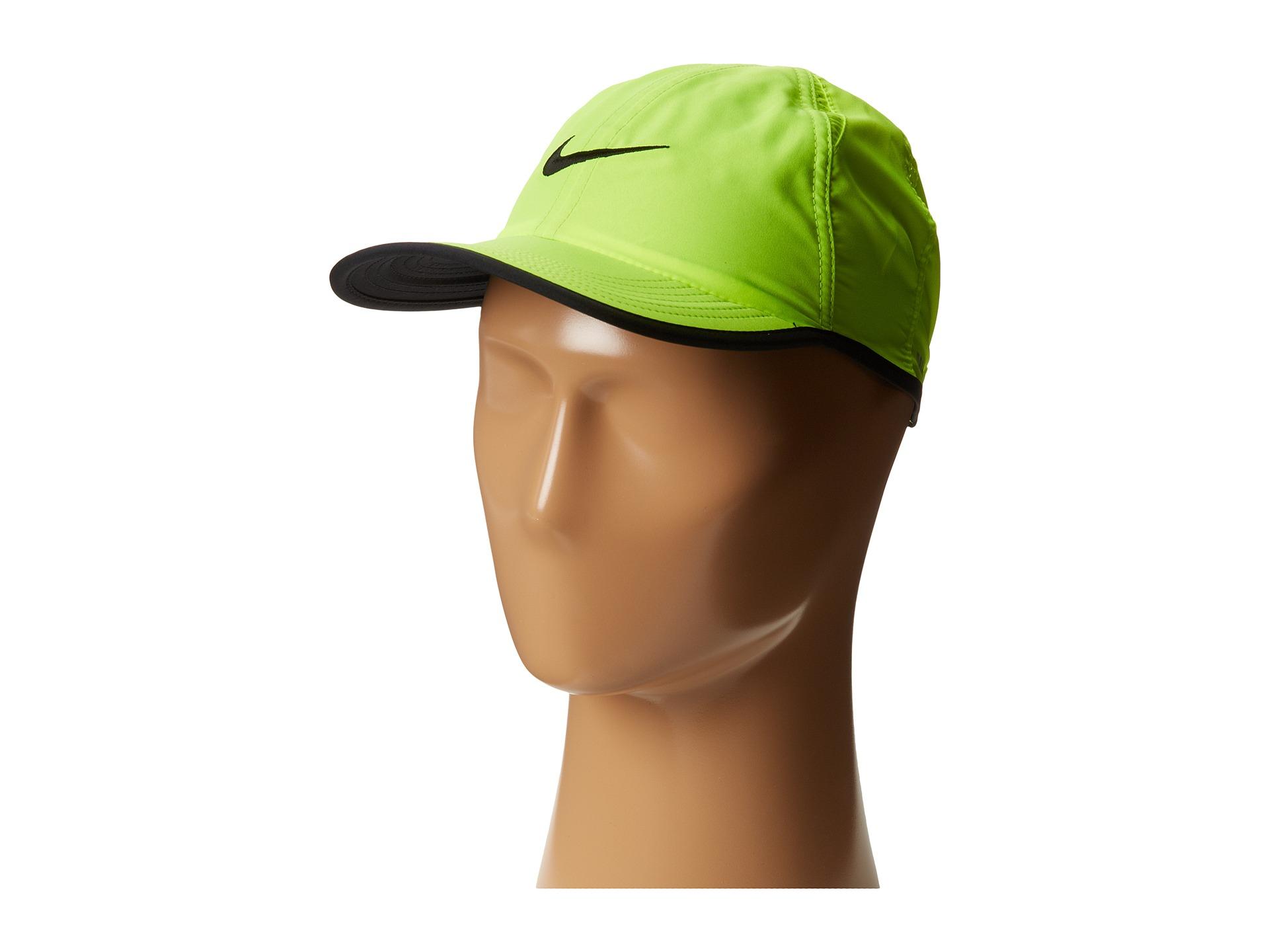 Lyst - Nike Featherlight Adj Cap Youth in Black 9b5031e4361