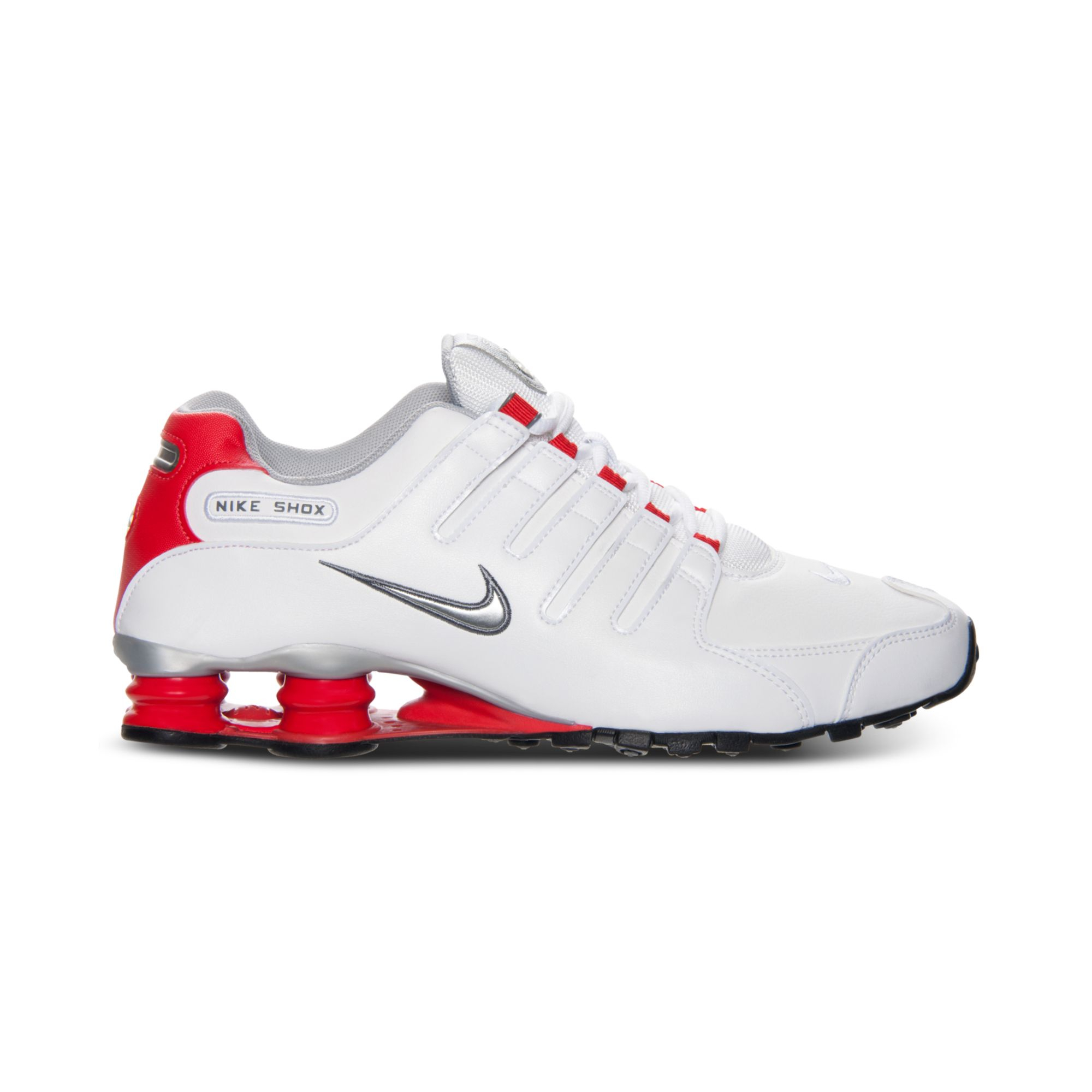 best website c7636 709b8 ... denmark lyst nike mens shox nz running sneakers from finish line in  white 9f2cf 42309