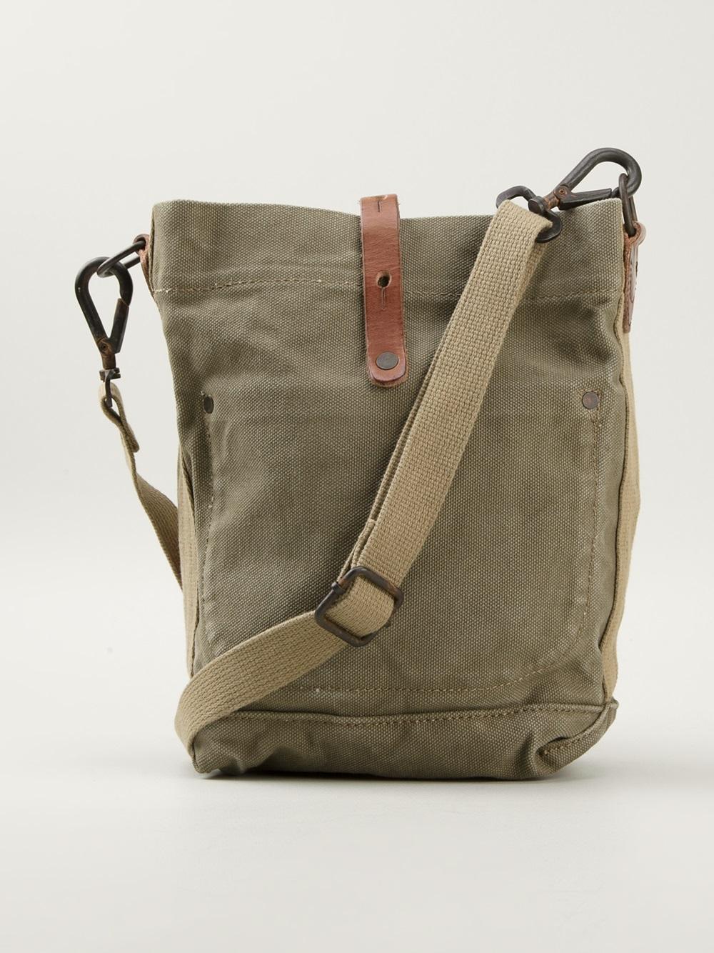 c2ac3b02b8d2 Lyst - Ralph Lauren Stars and Stripes Shoulder Bag in Green for Men