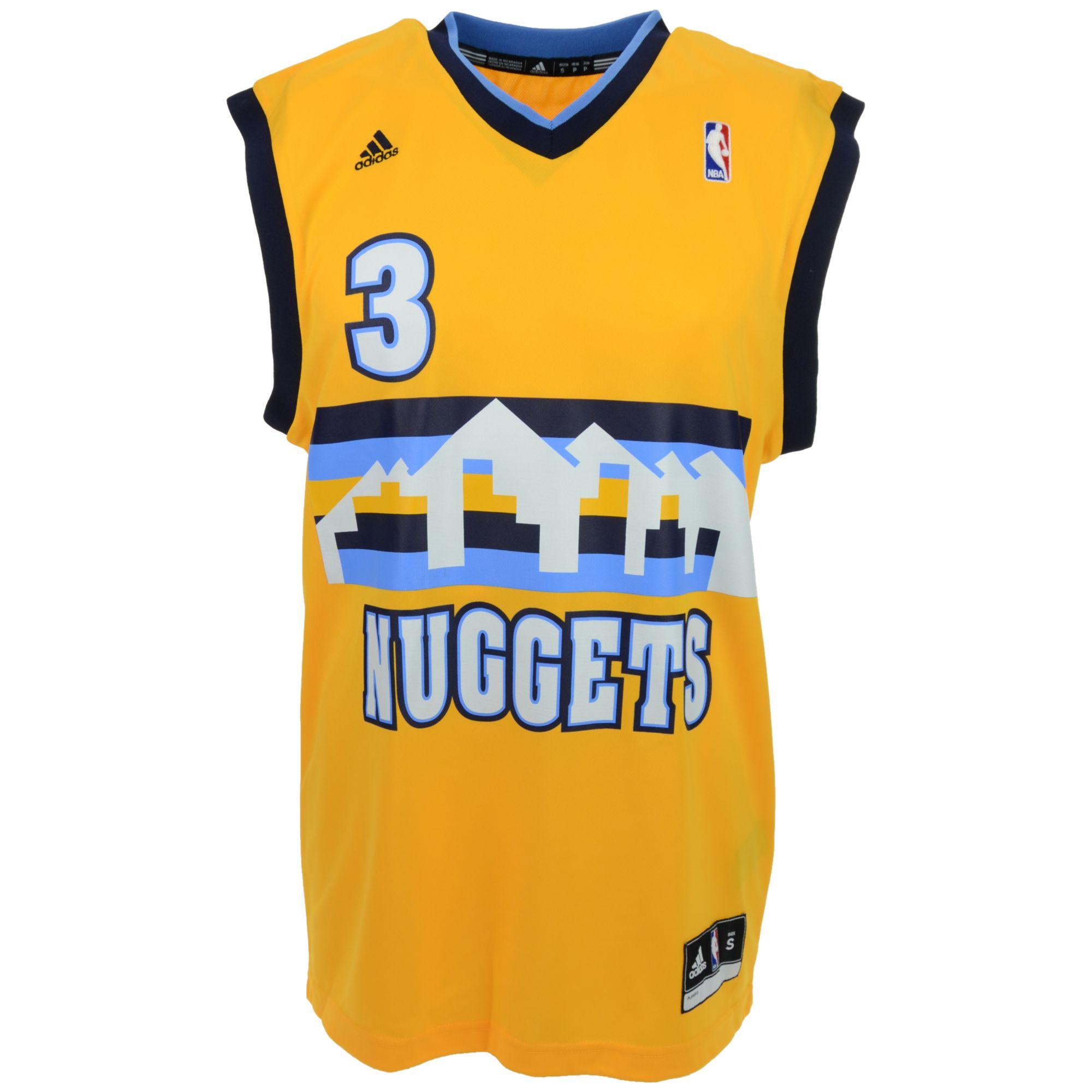 Denver Nuggets: Adidas Men'S Ty Lawson Denver Nuggets Rev 30 Replica