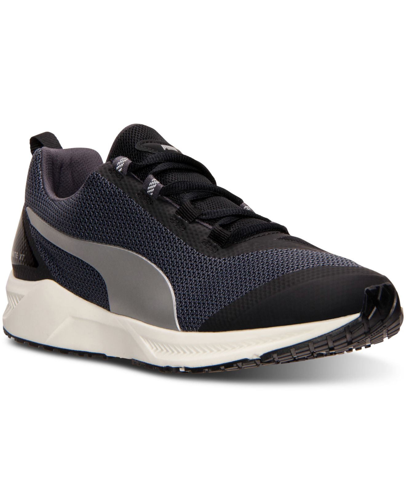 88dd256a8a76ec Lyst - PUMA Women s Ignite Xt Running Sneakers From Finish Line in Black