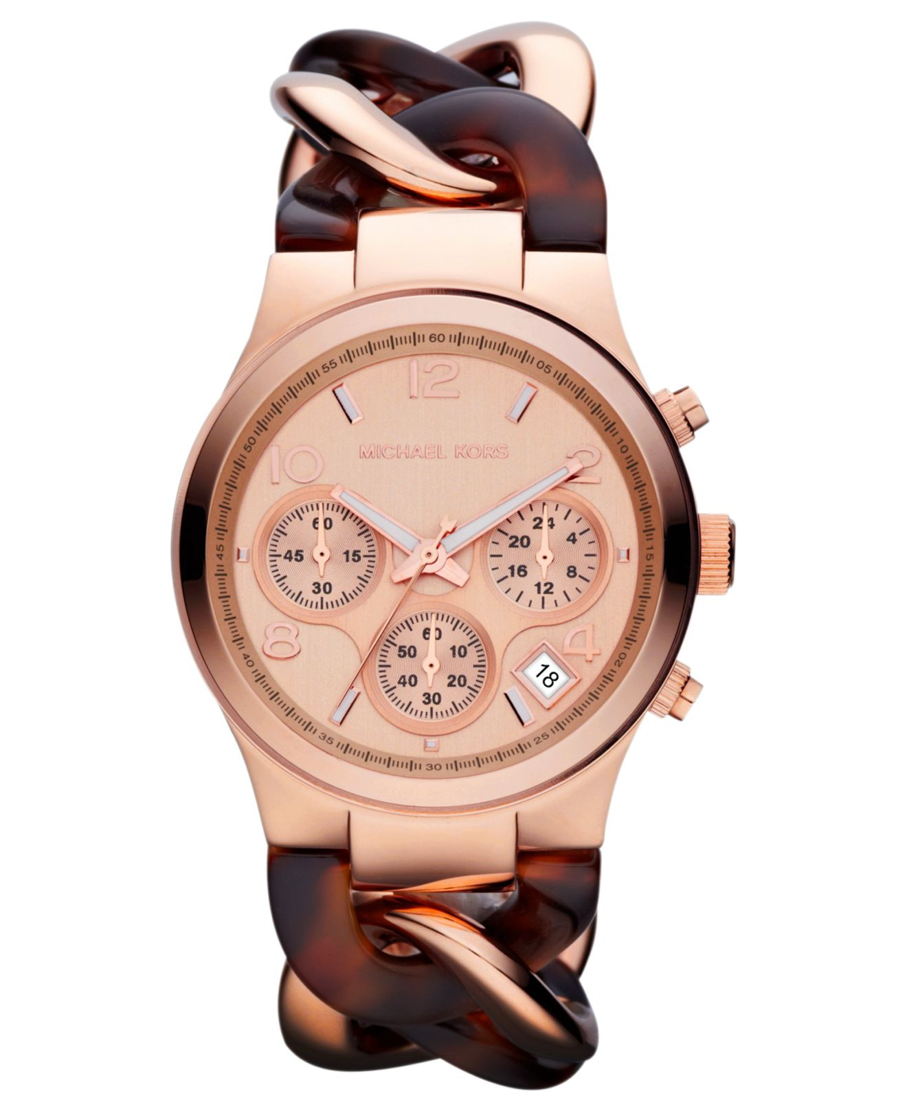ff1c5ceb45ae ... michael kors darci glitz collection las bracelet watch rose gold tone  mk3220 · gallery ...