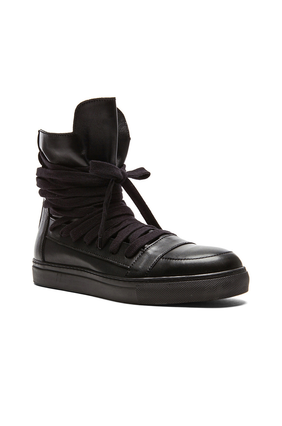 Pre-owned - Leather trainers Kris Van Assche KC10mZAYv
