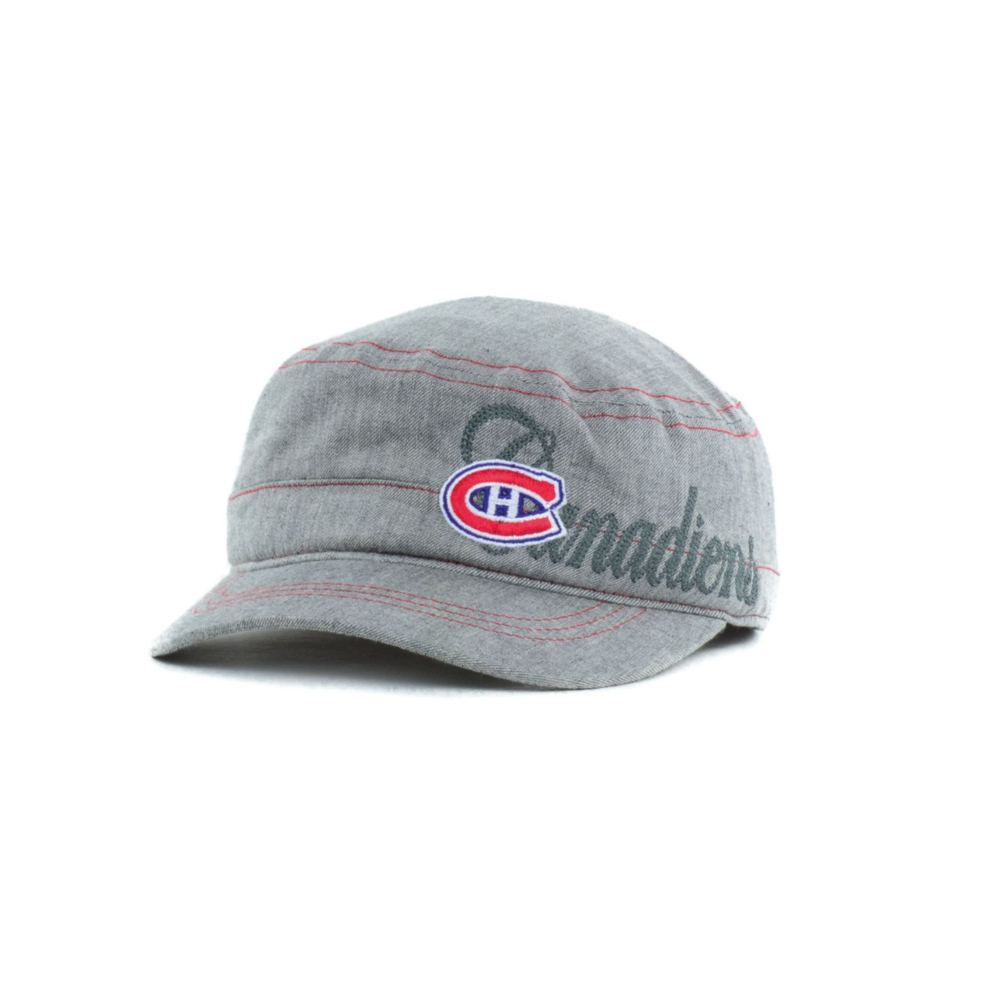 Lyst Reebok Womens Montreal Canadiens Military Cap In Gray
