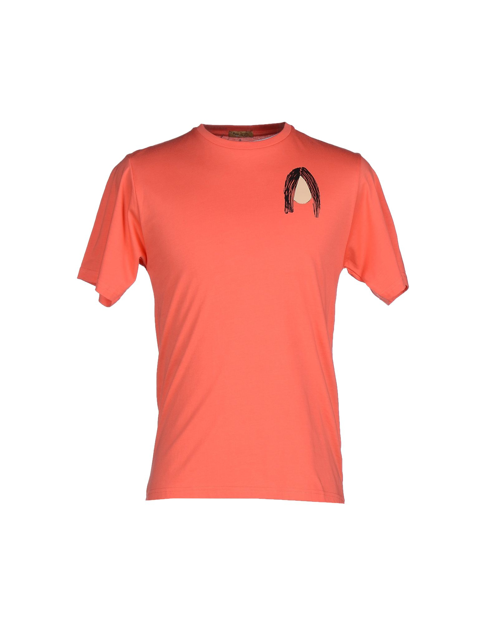 Peter Jensen T Shirt In Pink For Men Coral
