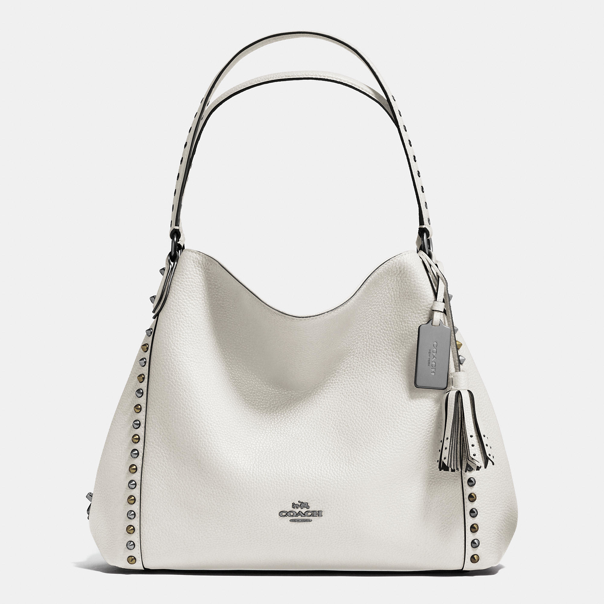 d636c5db7e4c6 cheapest lyst coach outline studs and grommets edie shoulder bag 31 in  8def1 3c469