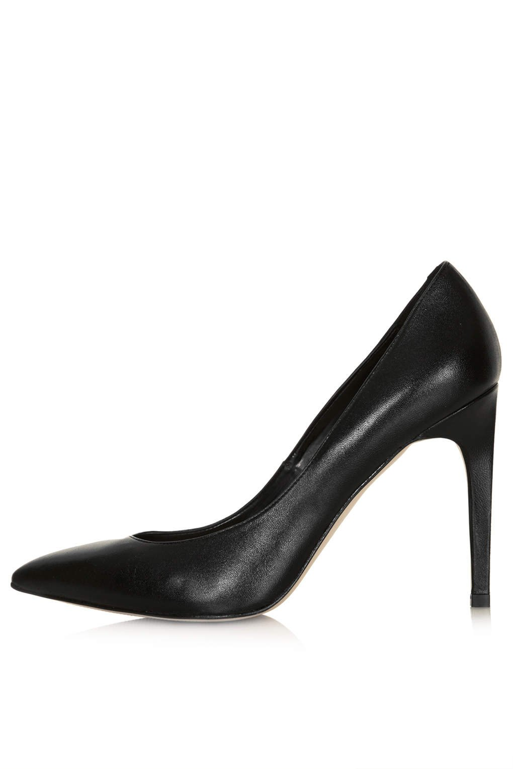topshop high shoes in black lyst