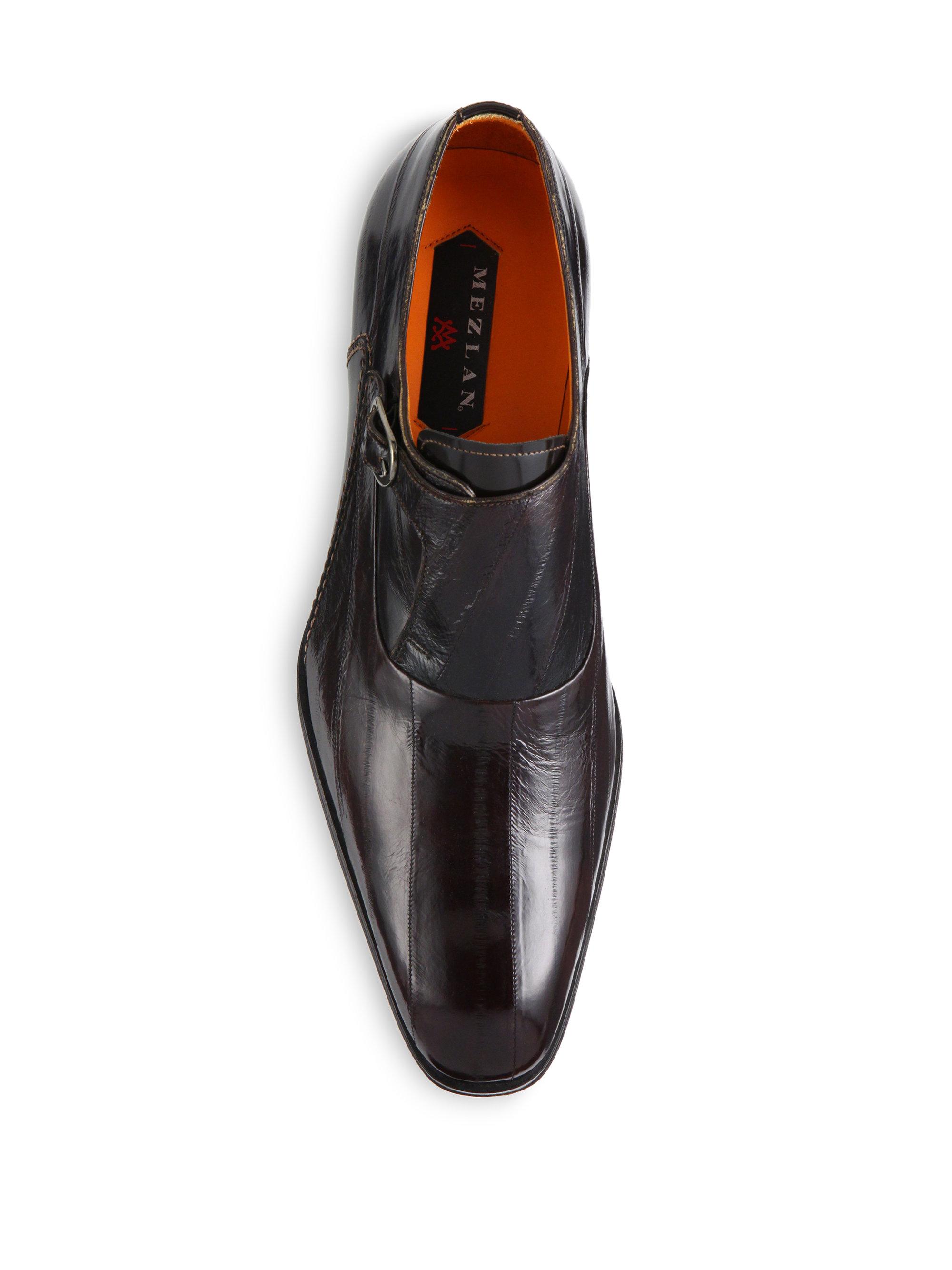 Fabi Brown Monk Shoes