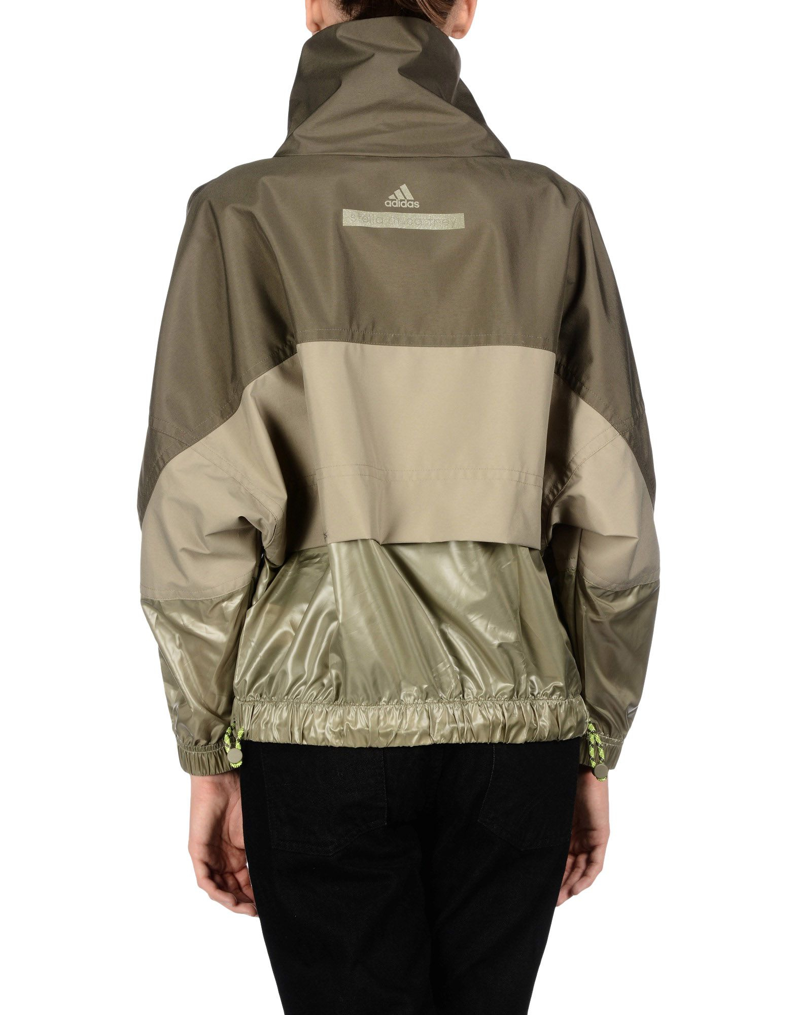 Lyst Adidas By Stella Mccartney Jacket In Natural