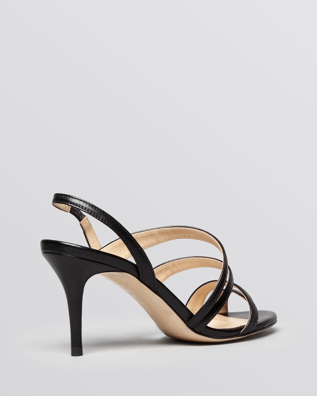 L.k.bennett Sandals - Addie Strappy Mid Heel in Black   Lyst