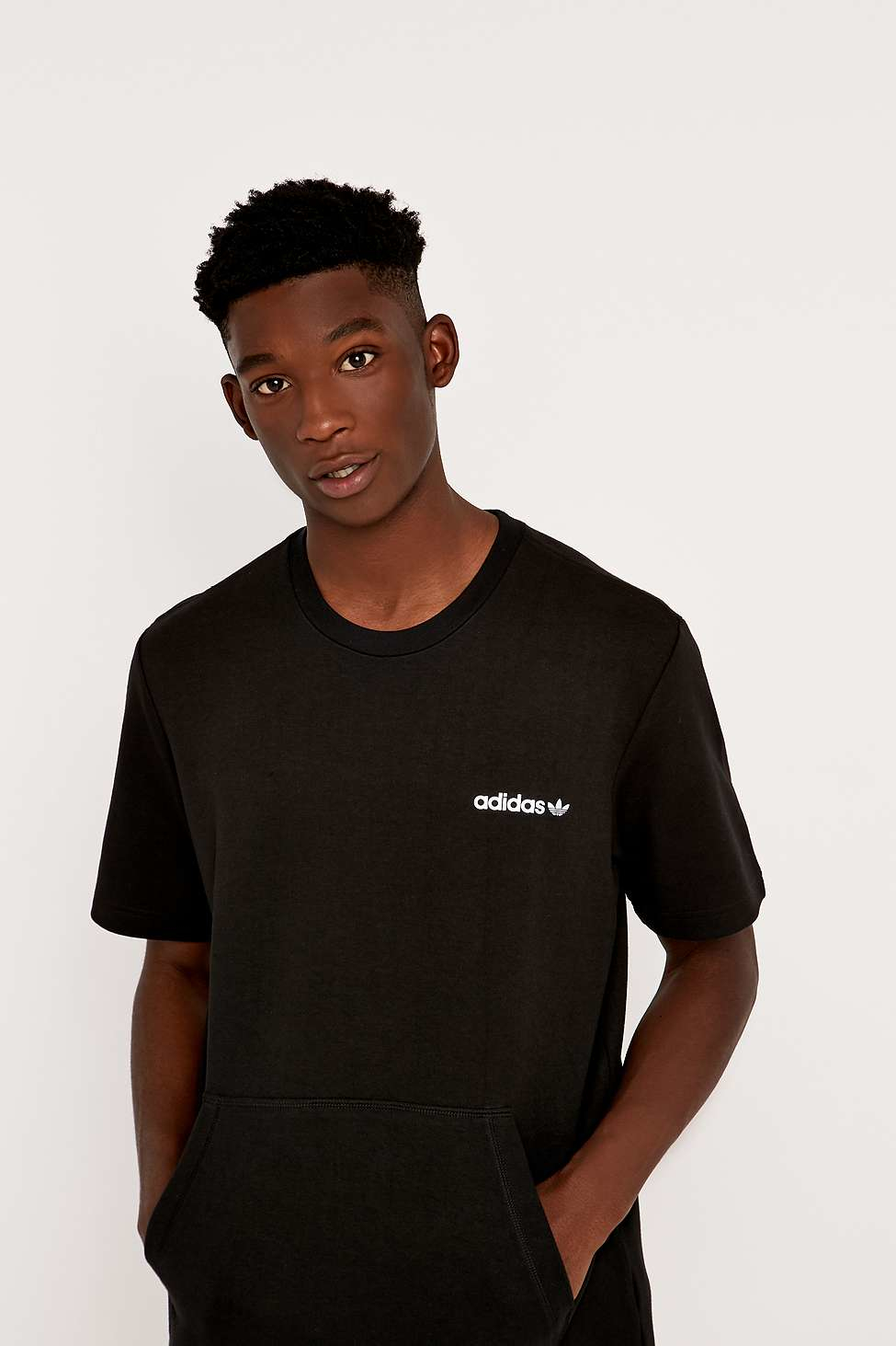 nike air max 2012 hommes - Adidas Modern Black Tee in Black for Men | Lyst