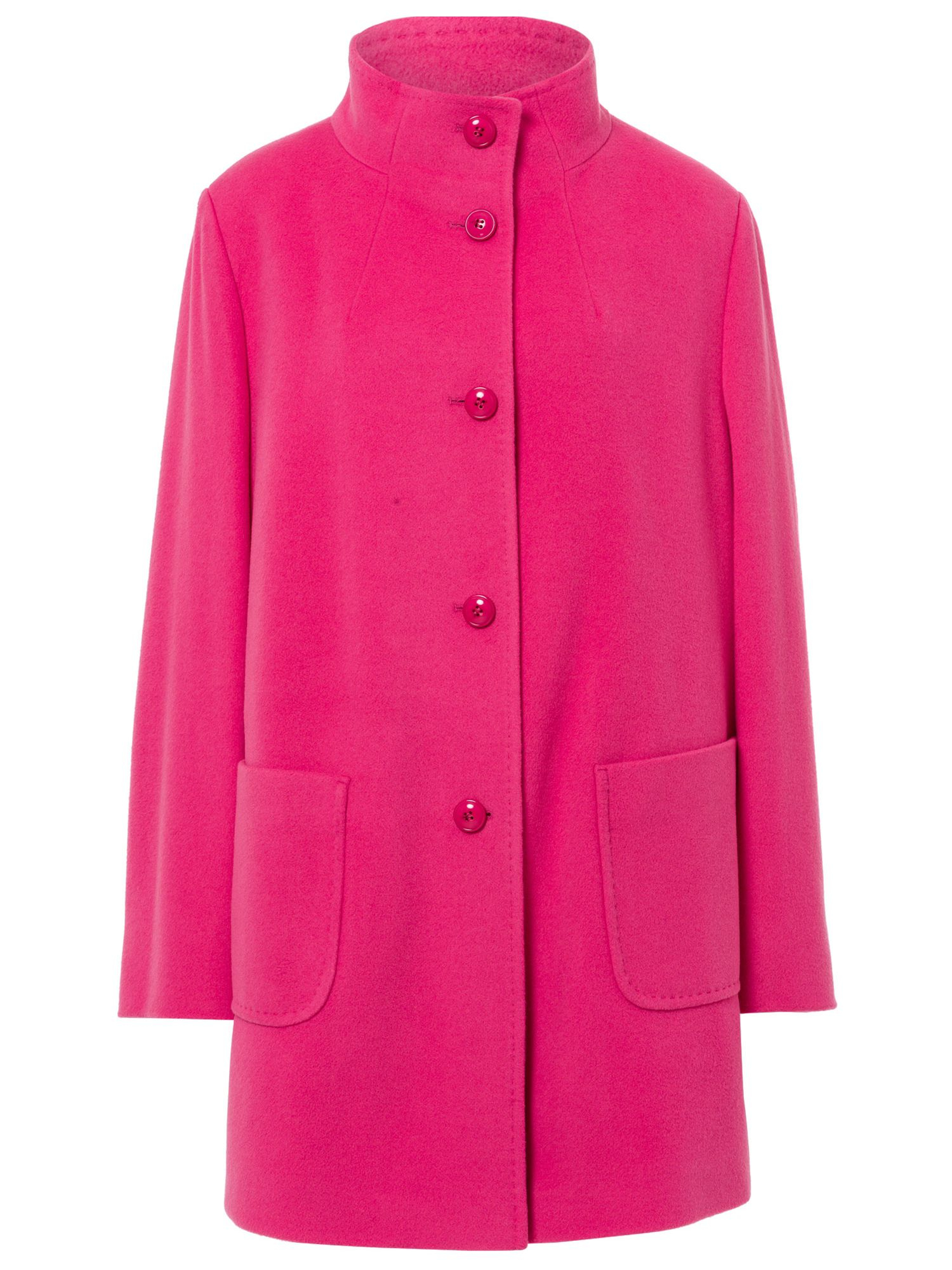 Basler Wool Coat With Cashmere In Pink Lyst