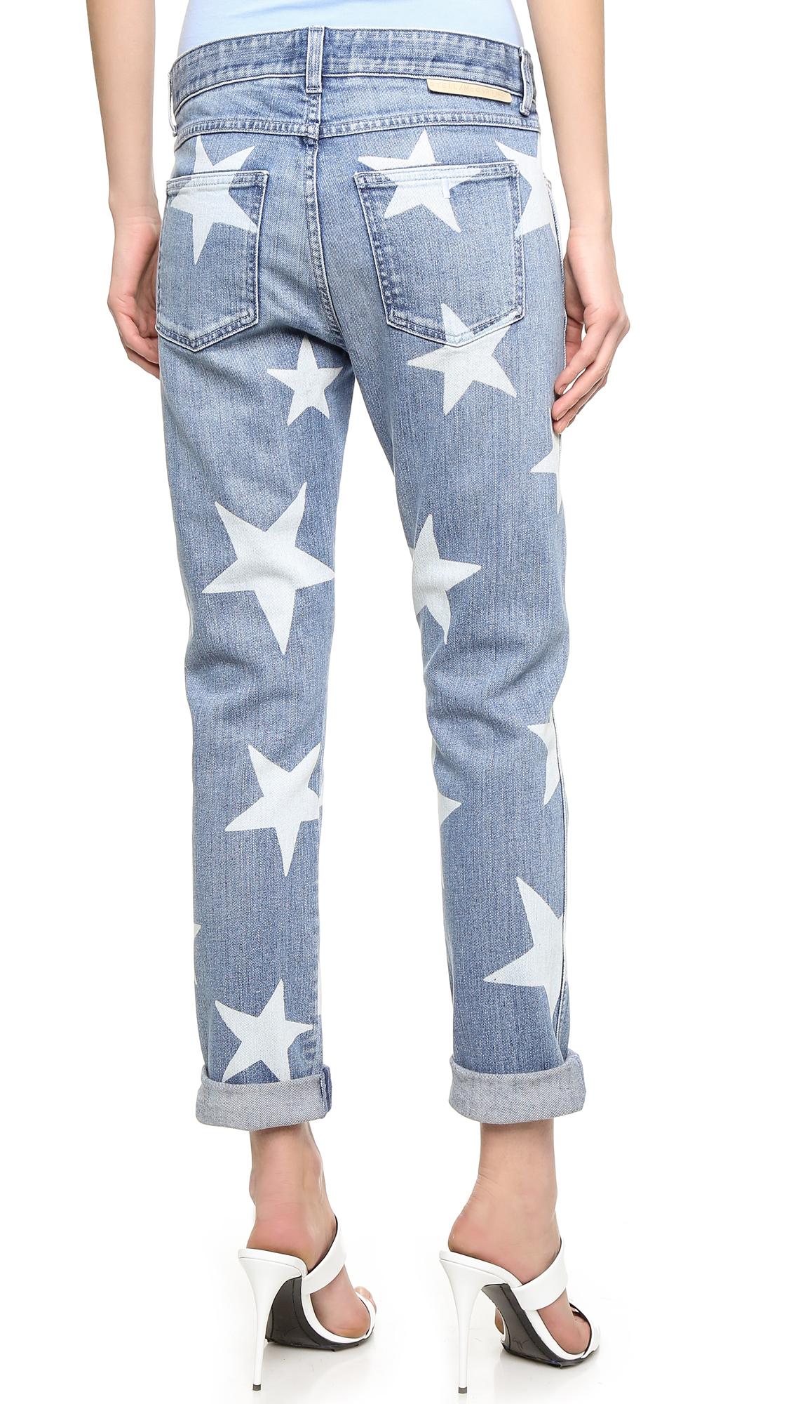 Stella mccartney The Skinny Boyfriend Jeans in Blue