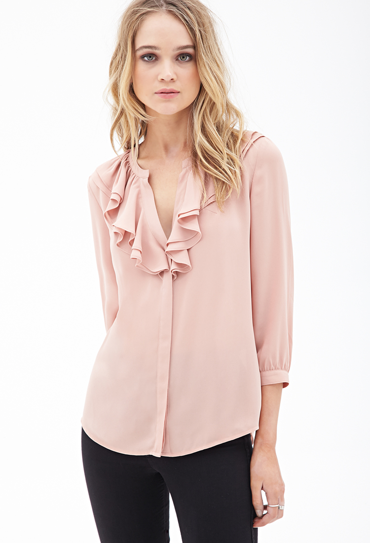 Blush Colored Shirts