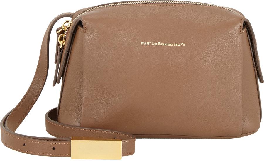 8dde678f006d Want Les Essentiels De La Vie City Crossbody Bag in Brown - Lyst