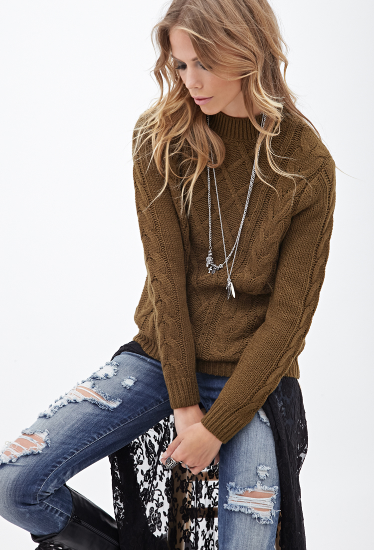 Diamond and Cable Knit Zip Cardigan with Pockets $ Donegal Tweed Half Zip Sweater $ Fisherman's Half Zip Sweater with Patches $ Crew Neck Sweater with Ribbed Details $ Wool Cashmere Mock Turtleneck Sweater $ Mens Handknit Honeycomb Stitch Sweater $