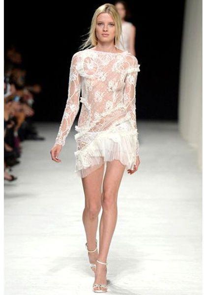 Dress in White Nina Ricci