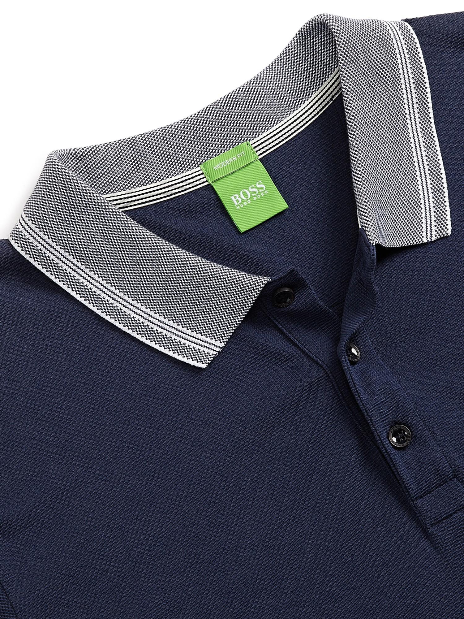 Hugo boss navy firenze polo shirt for Hugo boss navy shirt