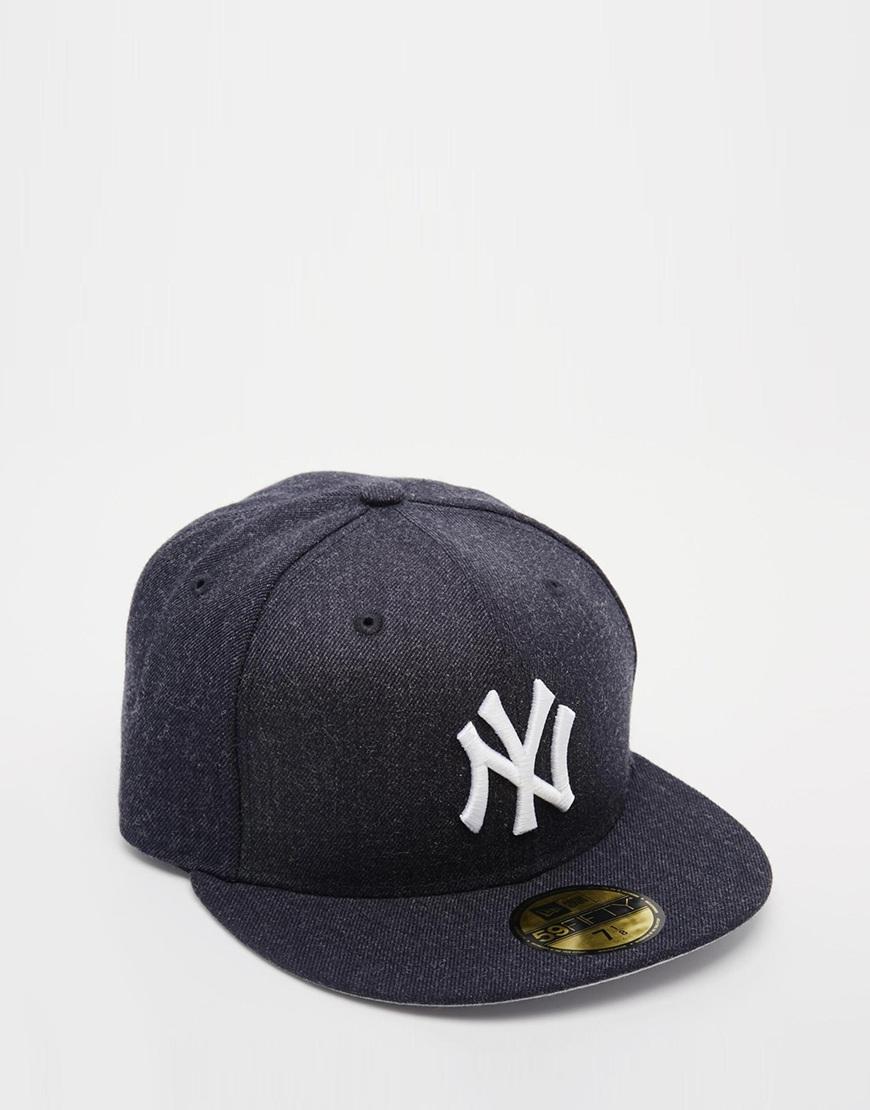 e7ee20da ... australia lyst ktz 59fifty ny yankees fitted cap in black for men 4b4f3  67593