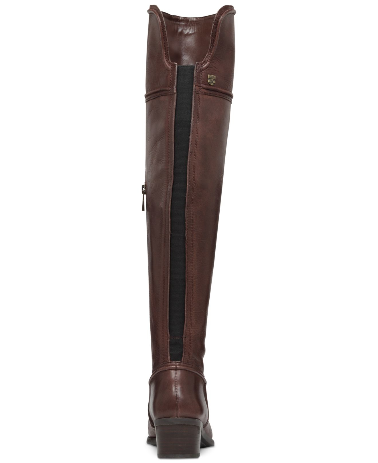 a554d5b525c Lyst - Vince Camuto Baldwin Over The Knee Boots in Brown