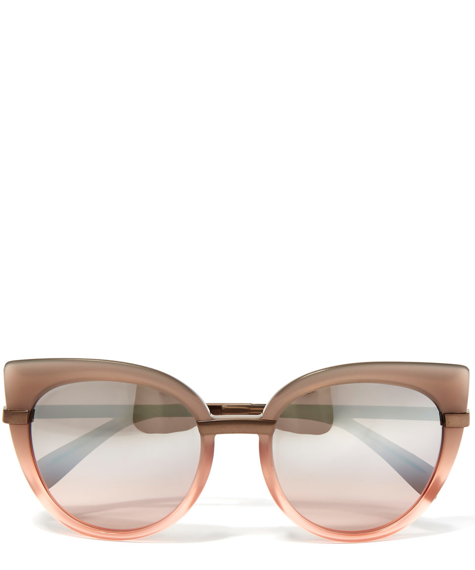 Marc By Marc Jacobs Cat Eye Sunglasses  marc jacobs blush pink cat eye sunglasses in pink for men lyst