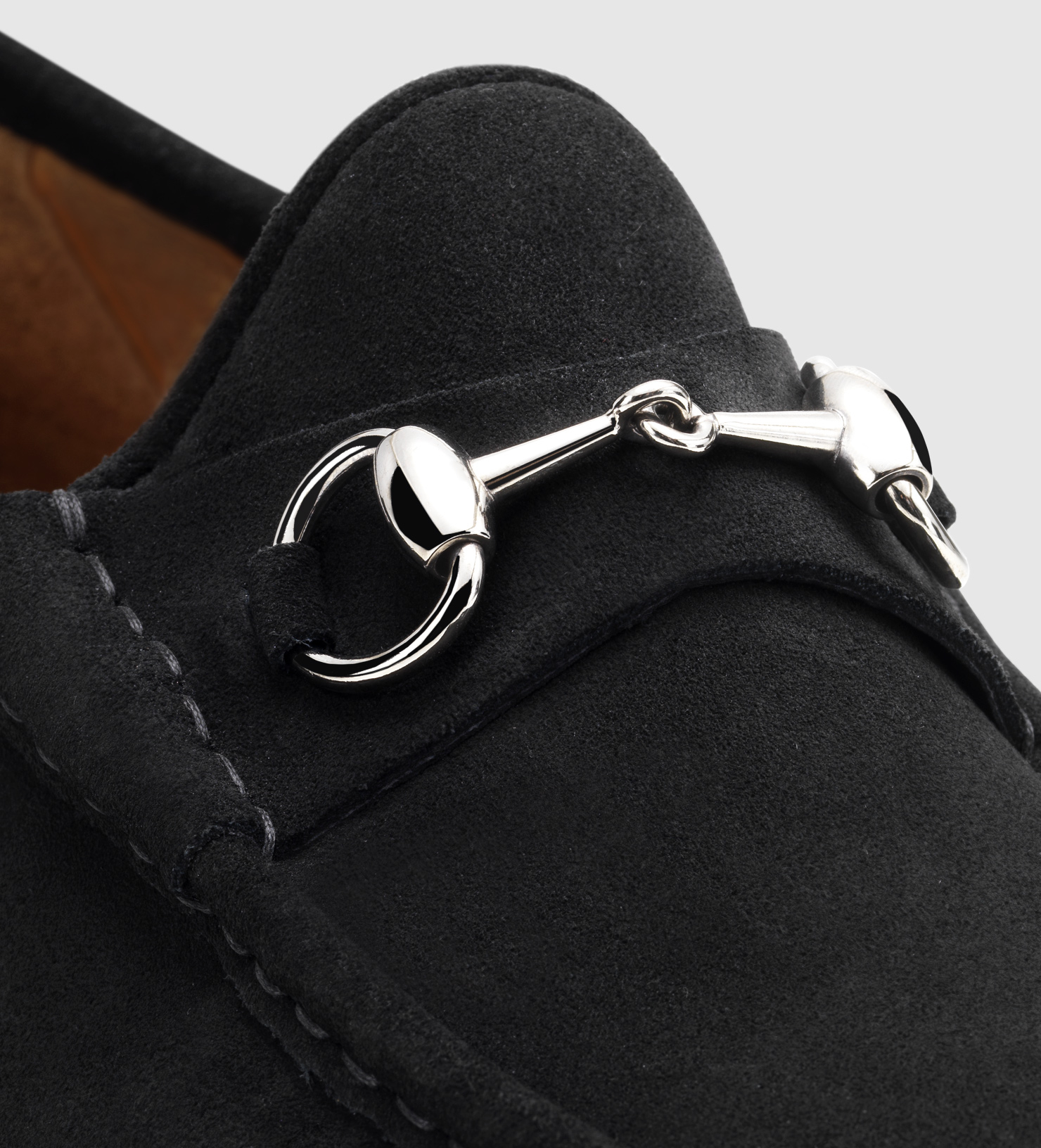 Men S Gucci Horsebit Loafers In Suede The Art Of Mike Mignola