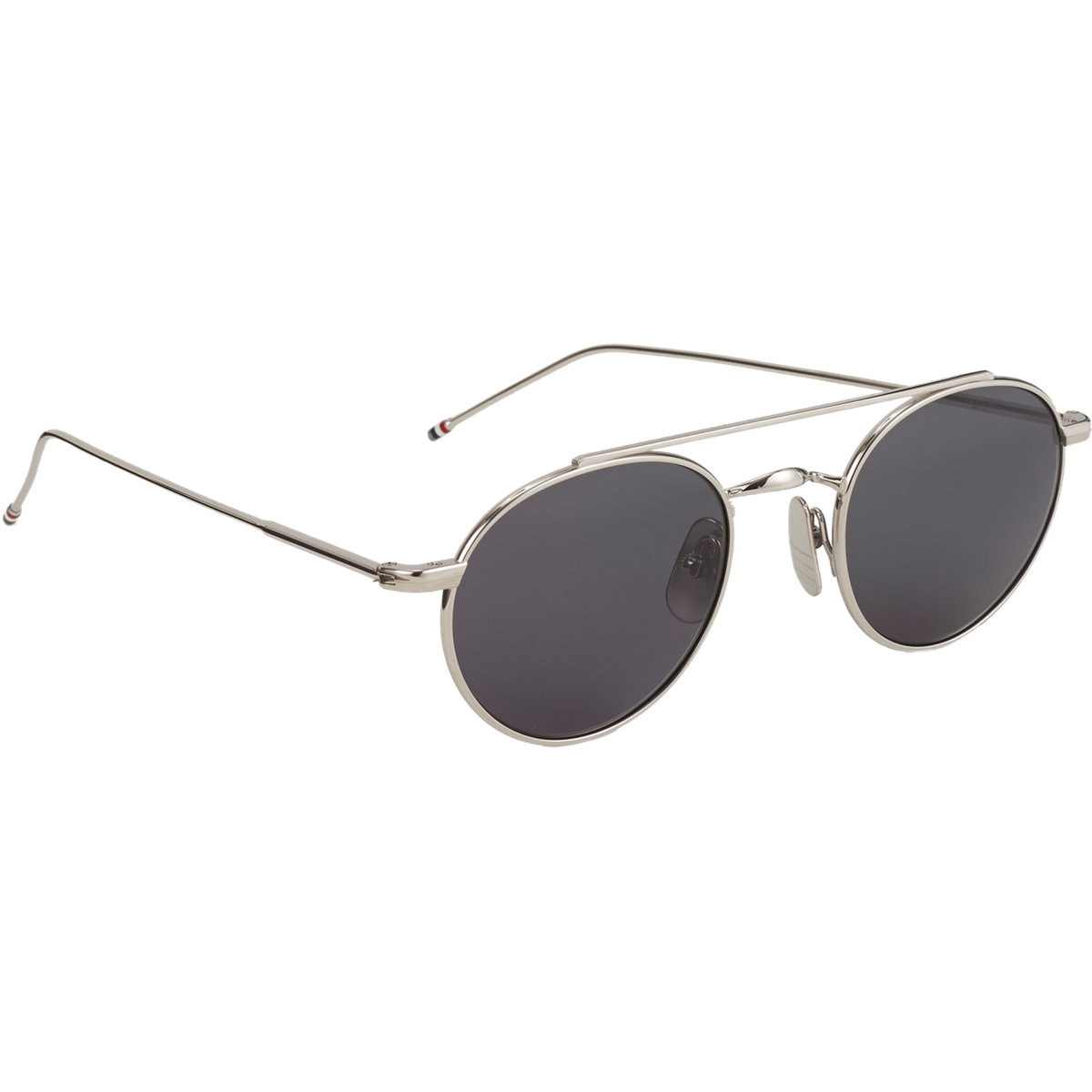 476f99f80a86 ... Thom Browne Round Frame Sunglasses in Metallic for Men Lyst