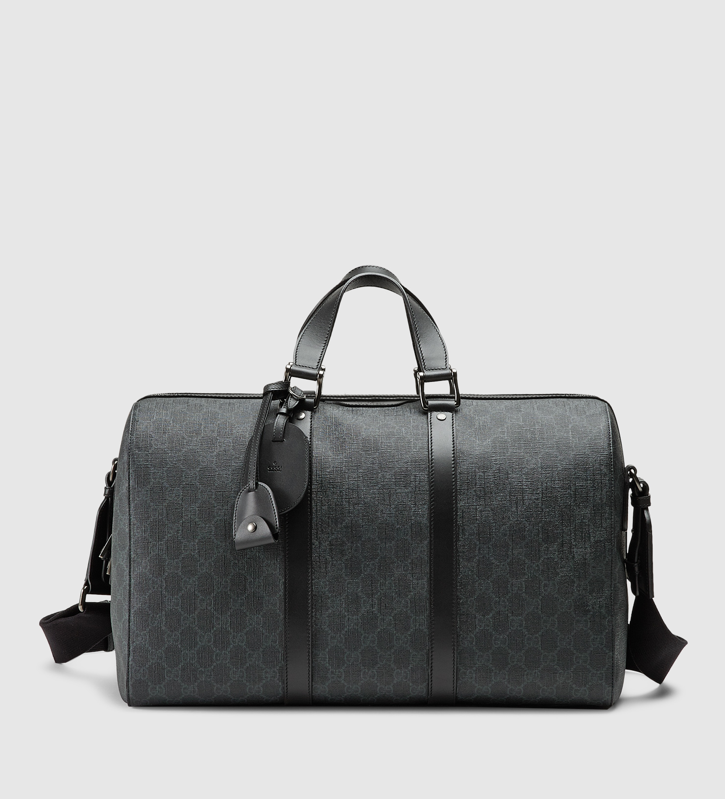 e4bb7283d46ac5 Gucci Gg Supreme Canvas Carry-on Duffle Bag in Black for Men - Lyst