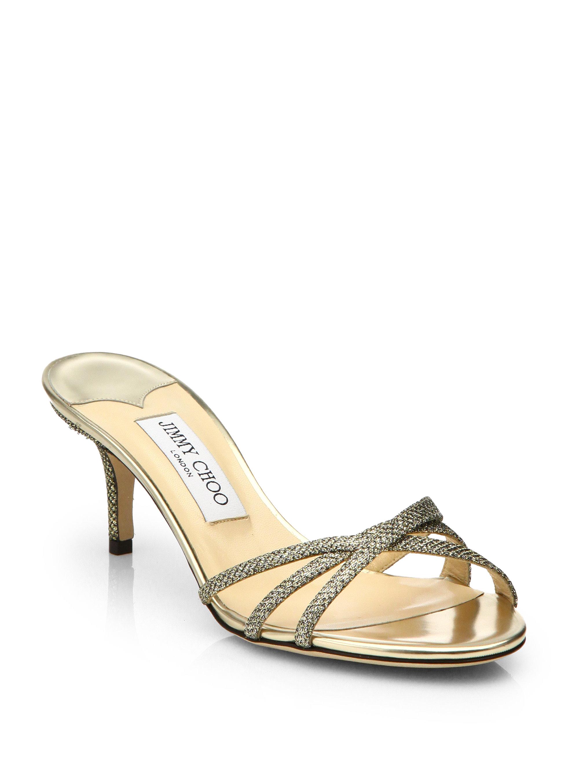 online cheap Jimmy Choo Isla Lace Slide Sandals sale brand new unisex qDYVtMbW5Z