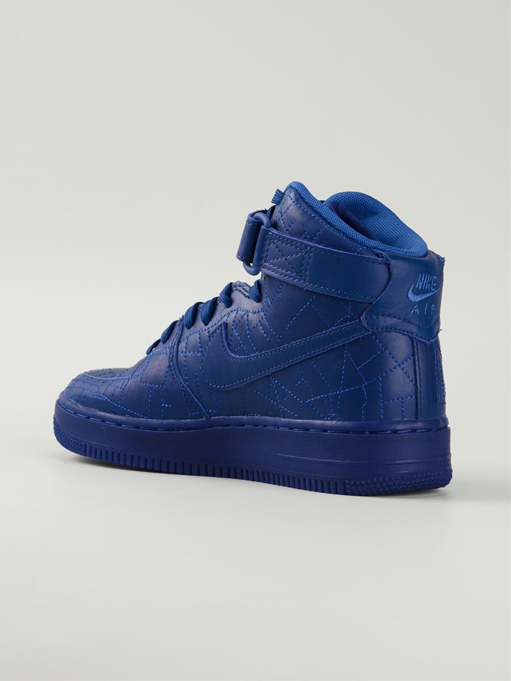 sale retailer d37bb 3330e shopping lyst nike blue air force 1 city collection sneakers paris in blue  for men 7b26f
