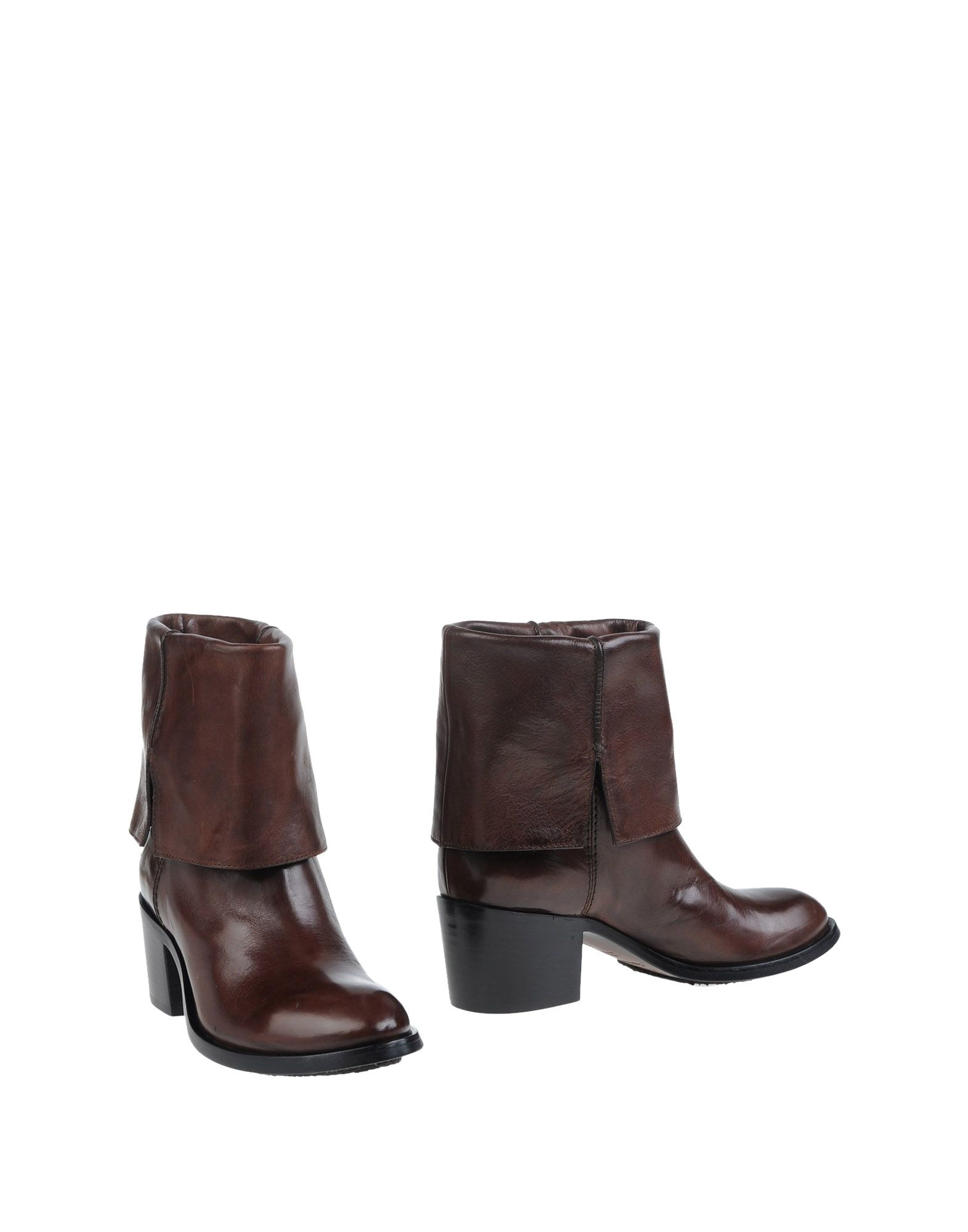 costume national ankle boots in brown lyst