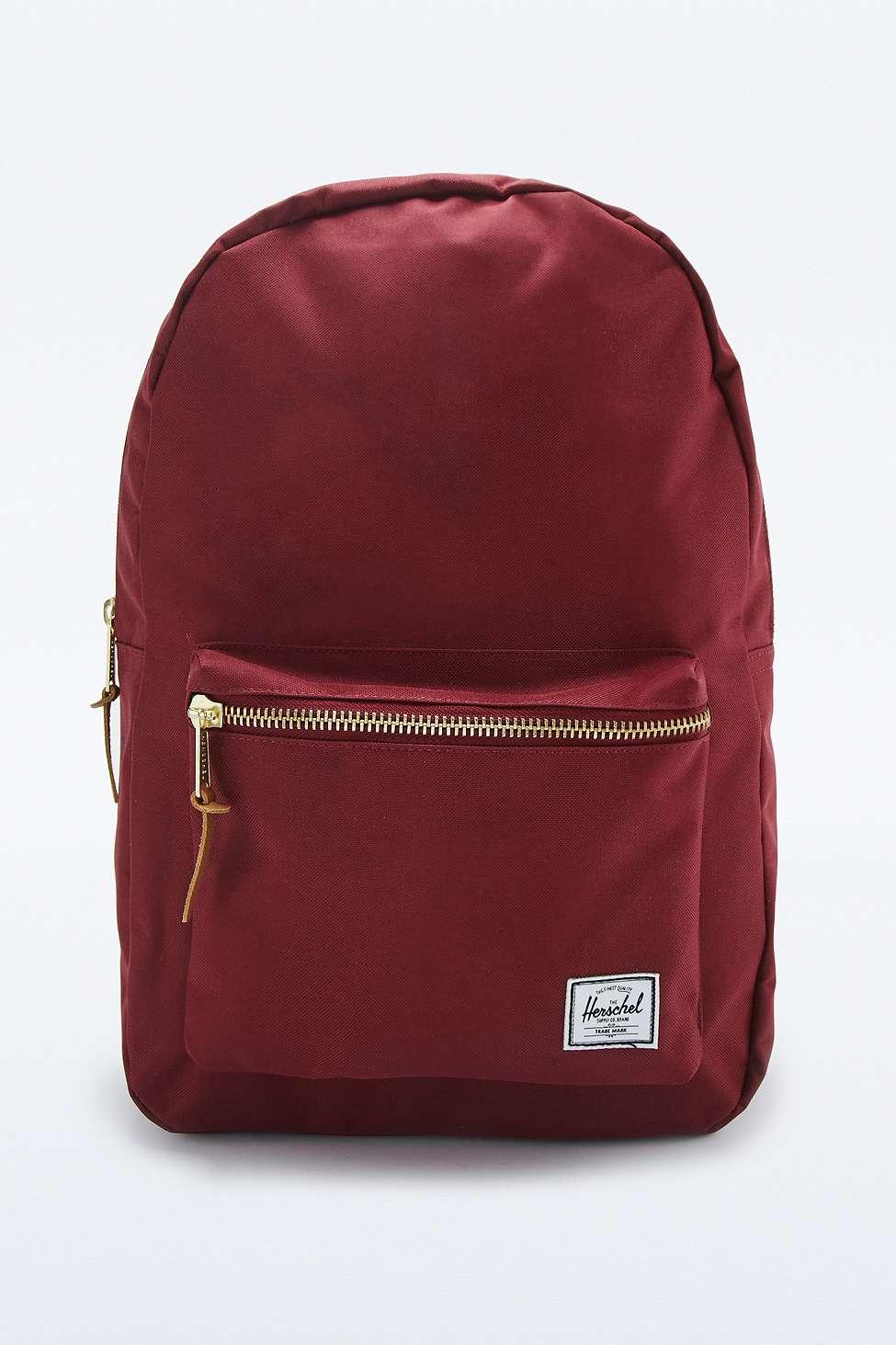 c5d3792e6e8 Herschel Supply Co. Settlement Burgundy Backpack in Purple for Men ...