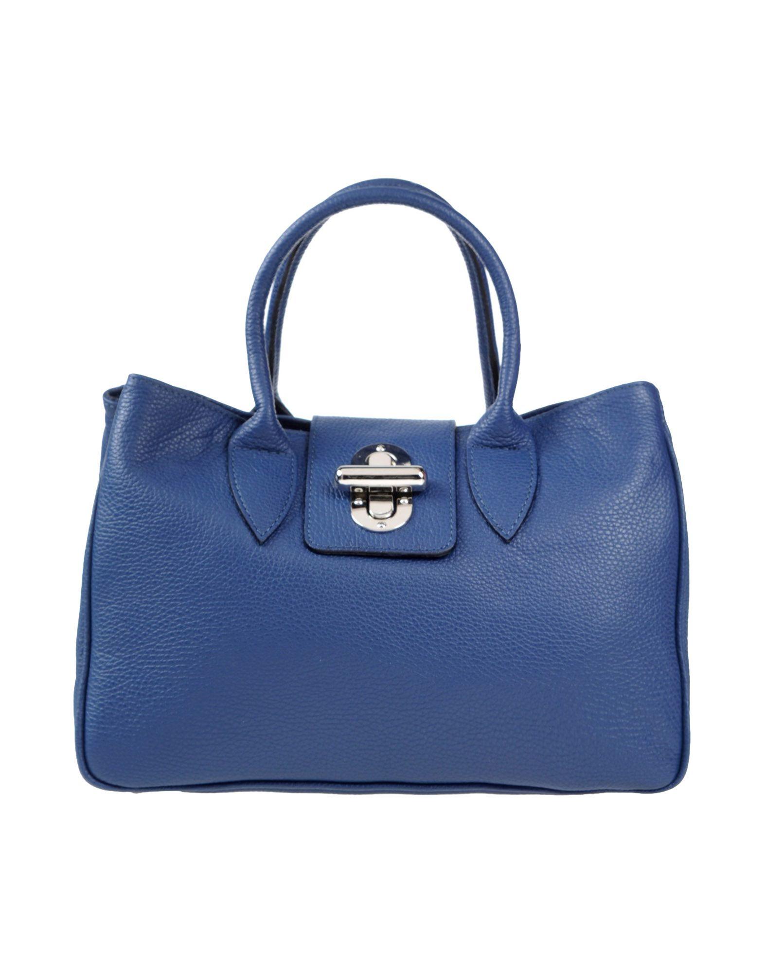 Parentesi Handbag In Blue Lyst
