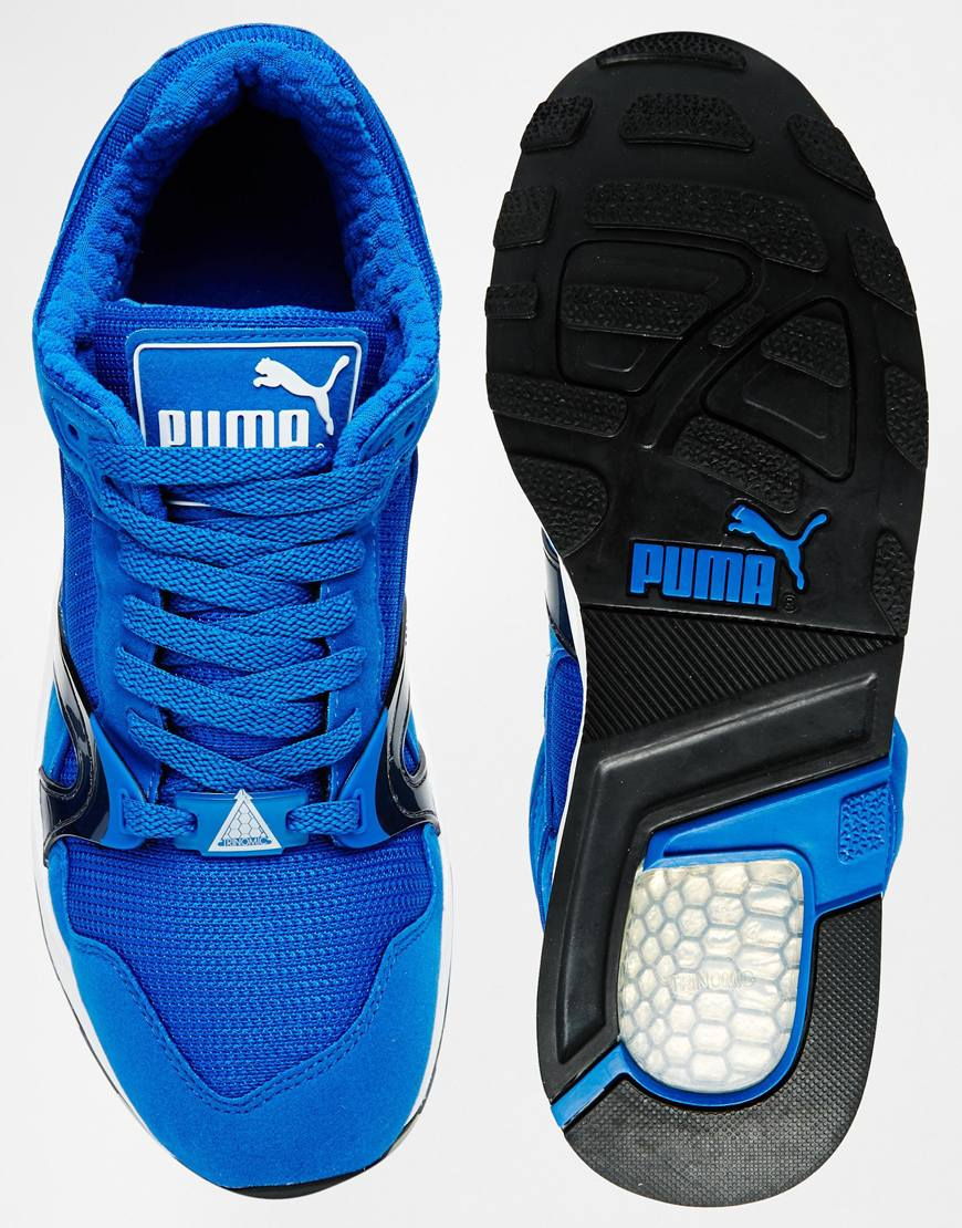 puma trinomic xt1 plus trainers blue