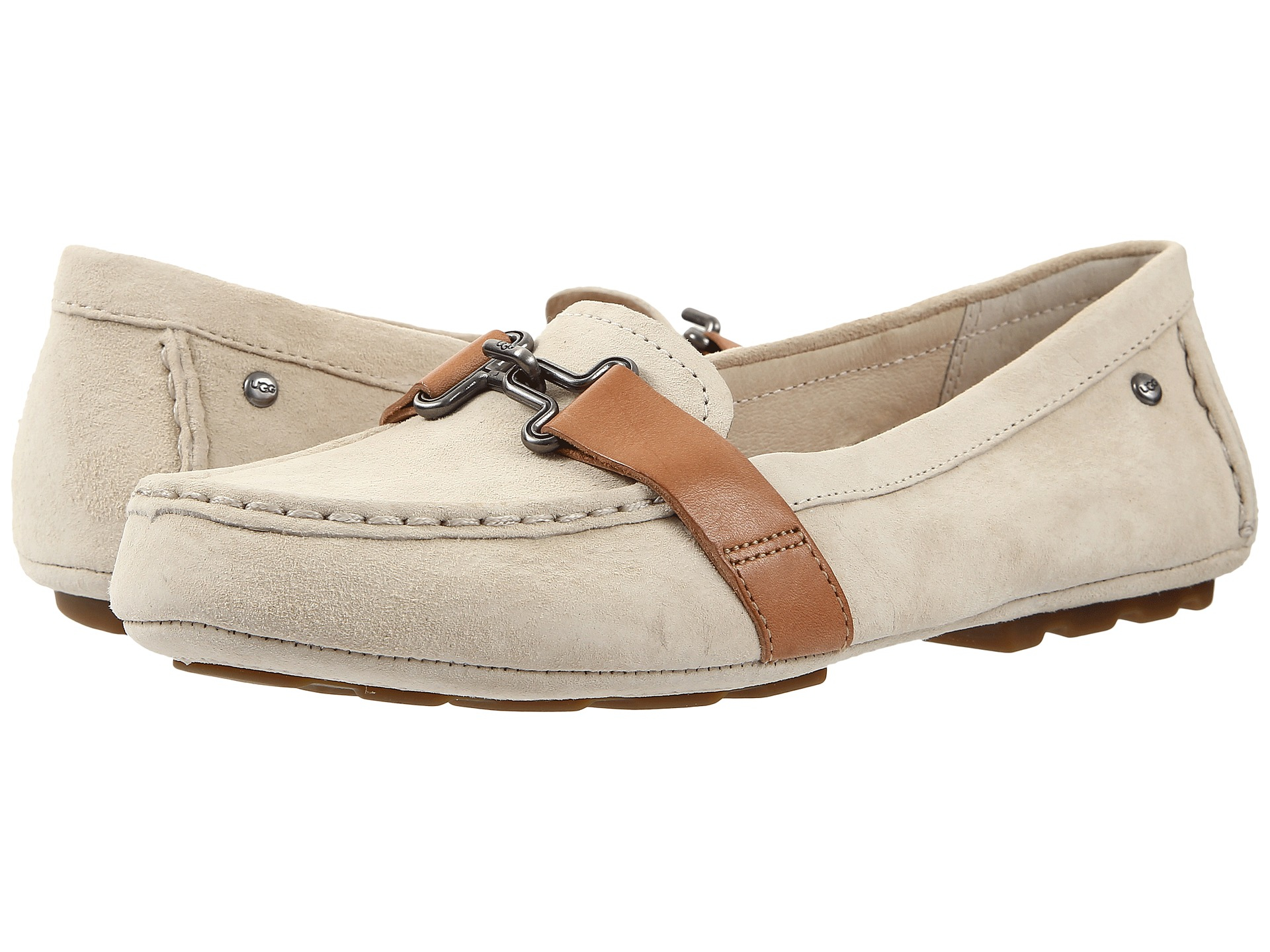 Womens Shoes UGG Aven Antique White