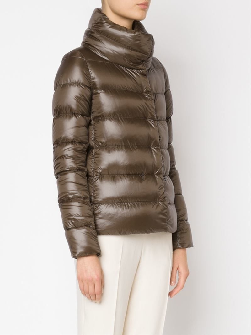 Brown Padded Jacket - JacketIn
