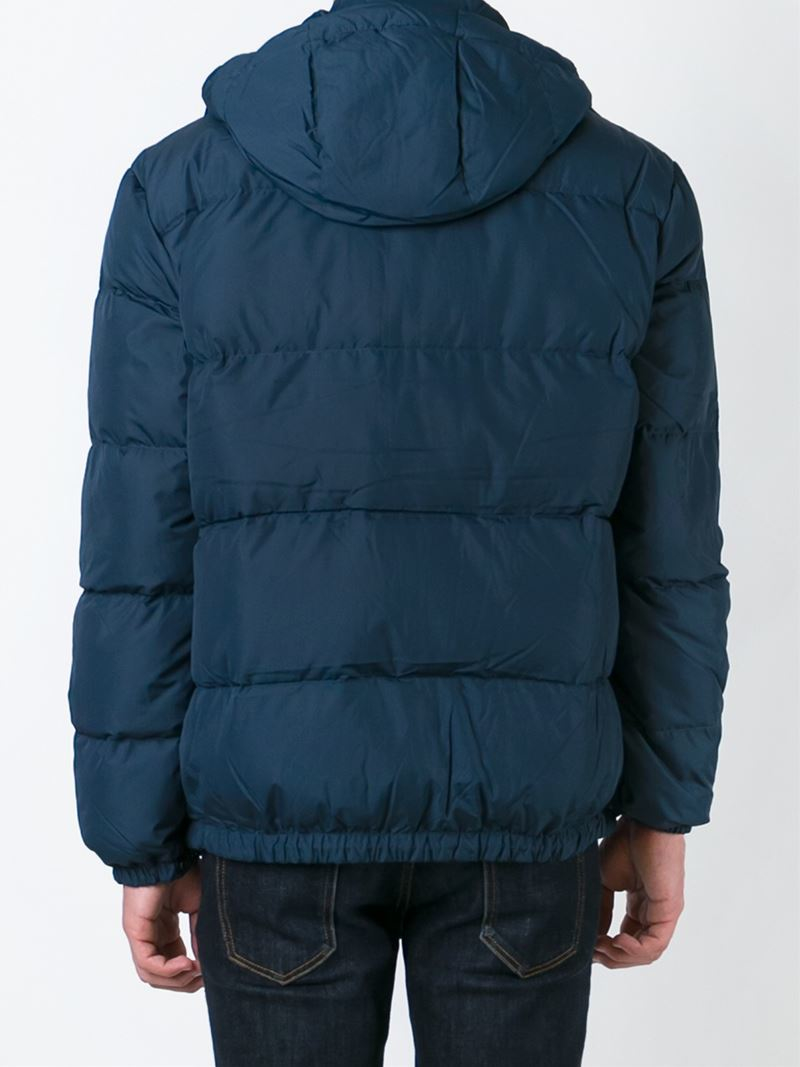polo ralph lauren classic padded jacket in blue for men lyst. Black Bedroom Furniture Sets. Home Design Ideas