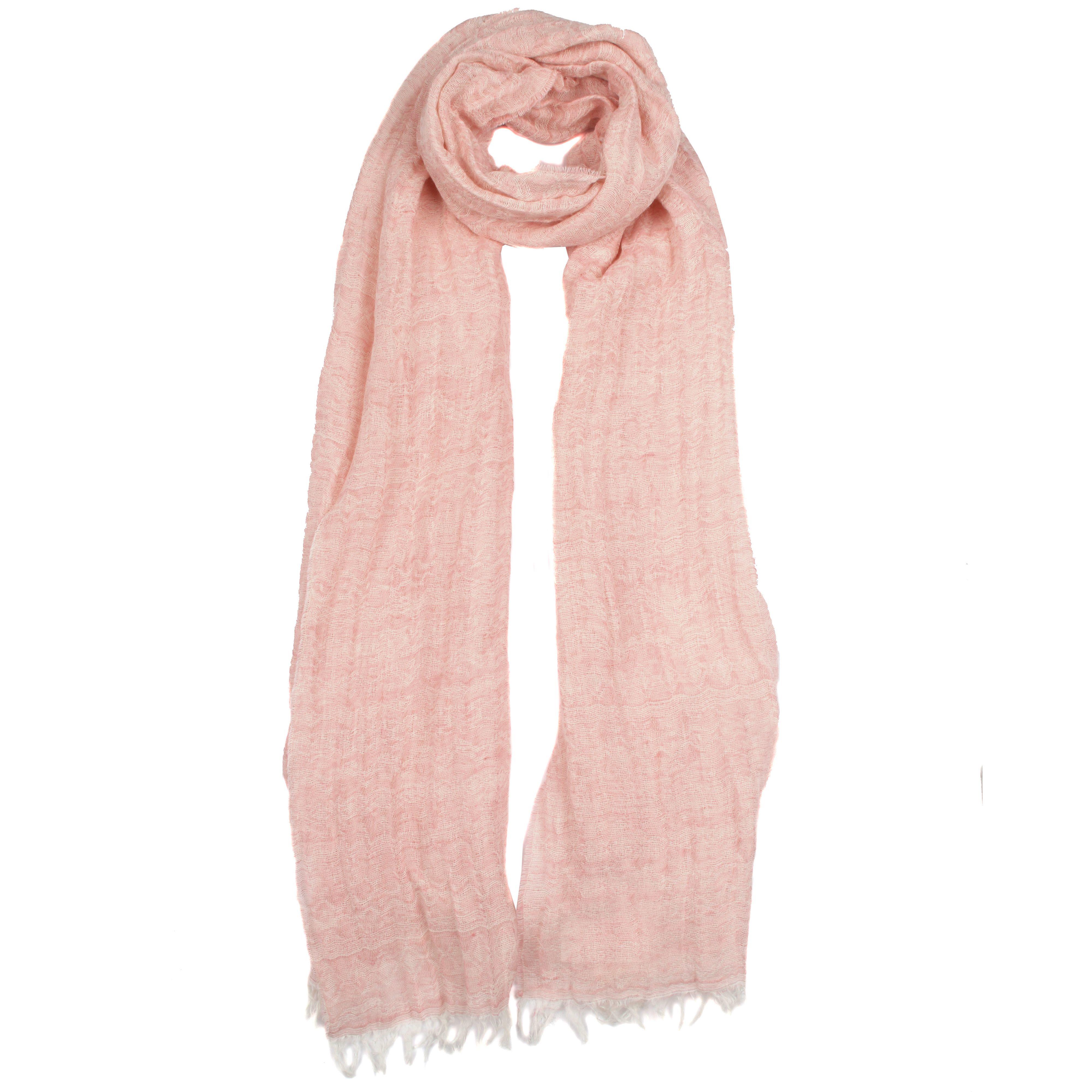 dents tonal aztec pattern stripe woven scarf in pink lyst