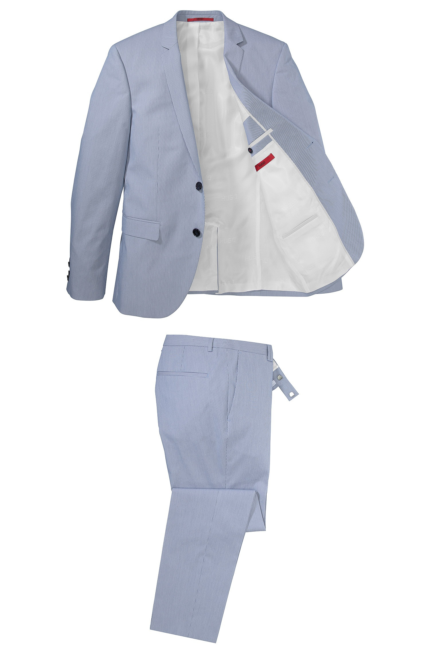a95115ff9 HUGO 'Adris/Heibo' | Extra Slim Fit, Stretch Cotton Blend Suit in ...