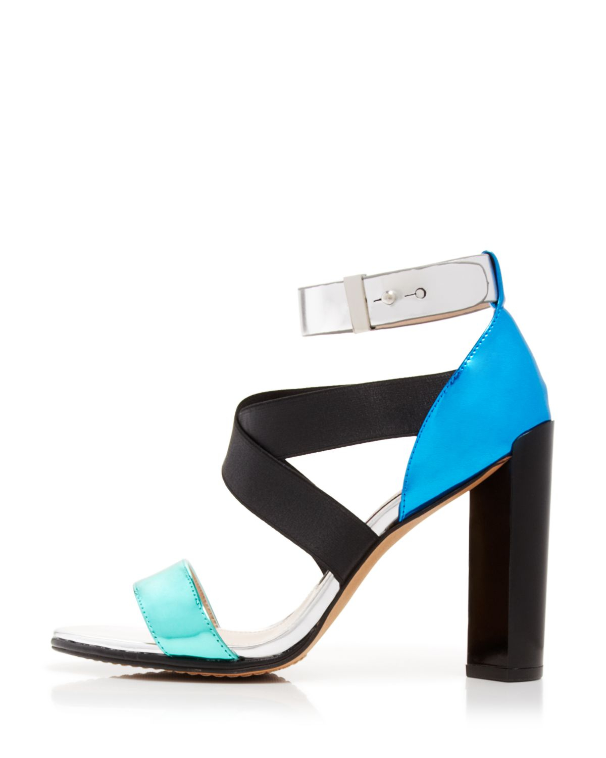 Lyst French Connection Open Toe Sandals Melody High