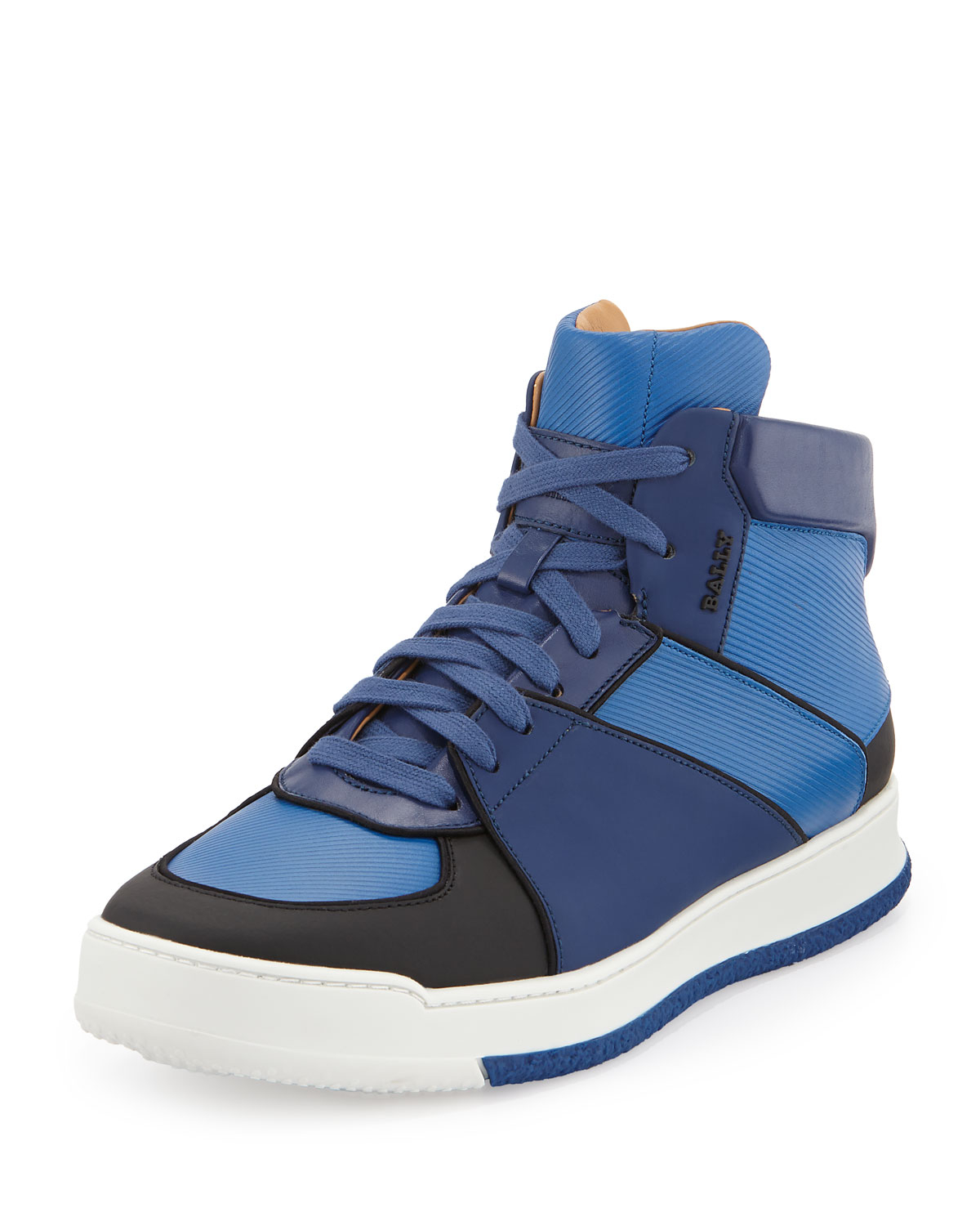 Bally Mens Hedern High Top Sneakers