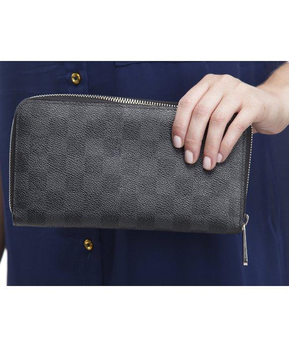 358a4eb59b4d Louis Vuitton Black Damier Purse Best Image Ccdbb. Louis Vuitton Zippy  Anizer Wallet Best Photo