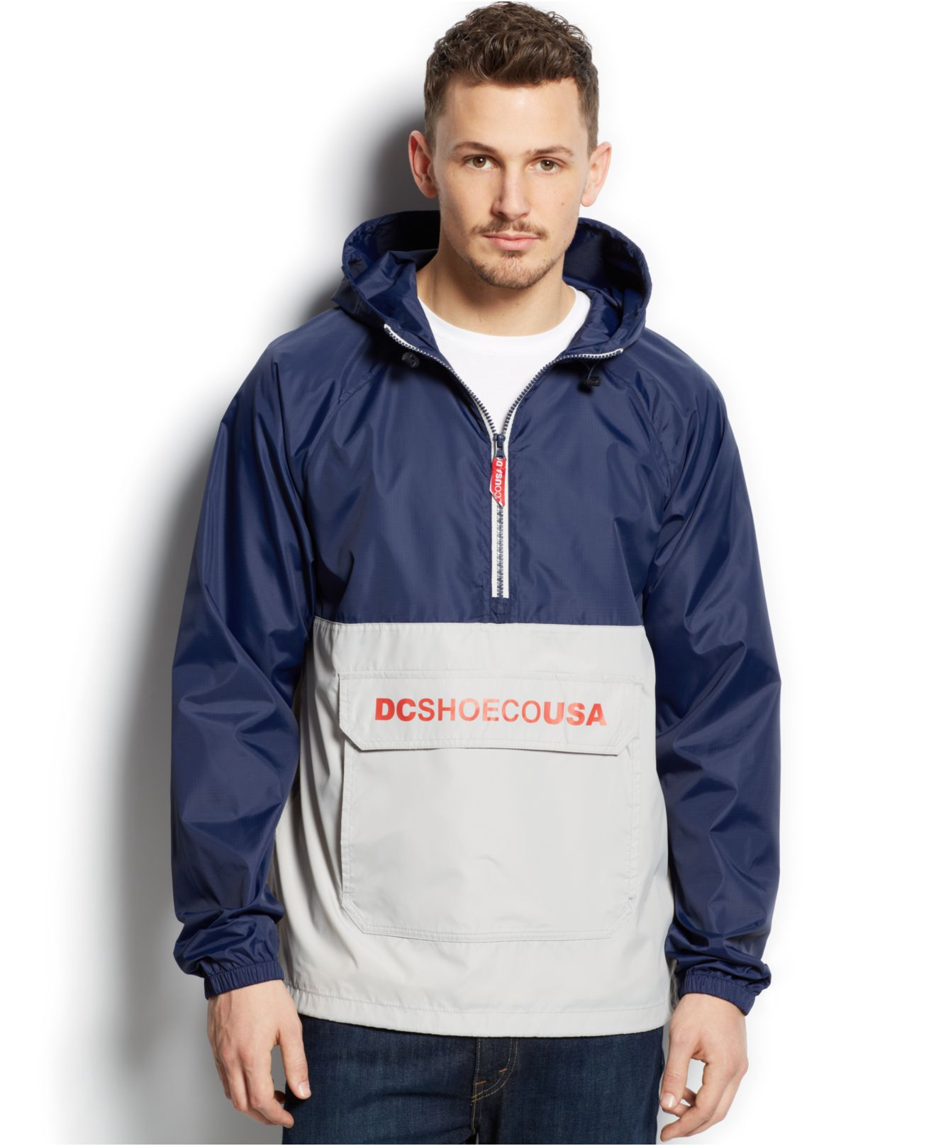Pullover Windbreaker Jackets For Men - Pl Jackets